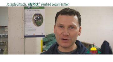 The MyPick Verified Local Farmer Brand